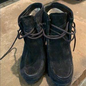 Michael Kors Black Suede Booties
